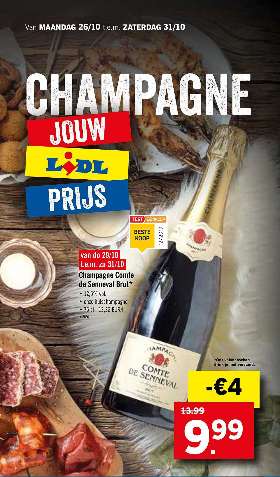 Lidl Champagne Comte De Senneval Brut*