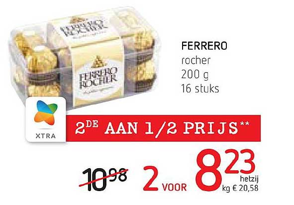 Spar Colruyt Ferrero Rocher