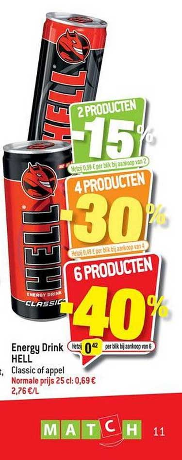 Match Hell Energy Drink