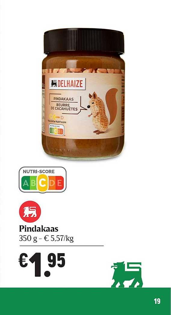 Proxy Delhaize Pindakaas