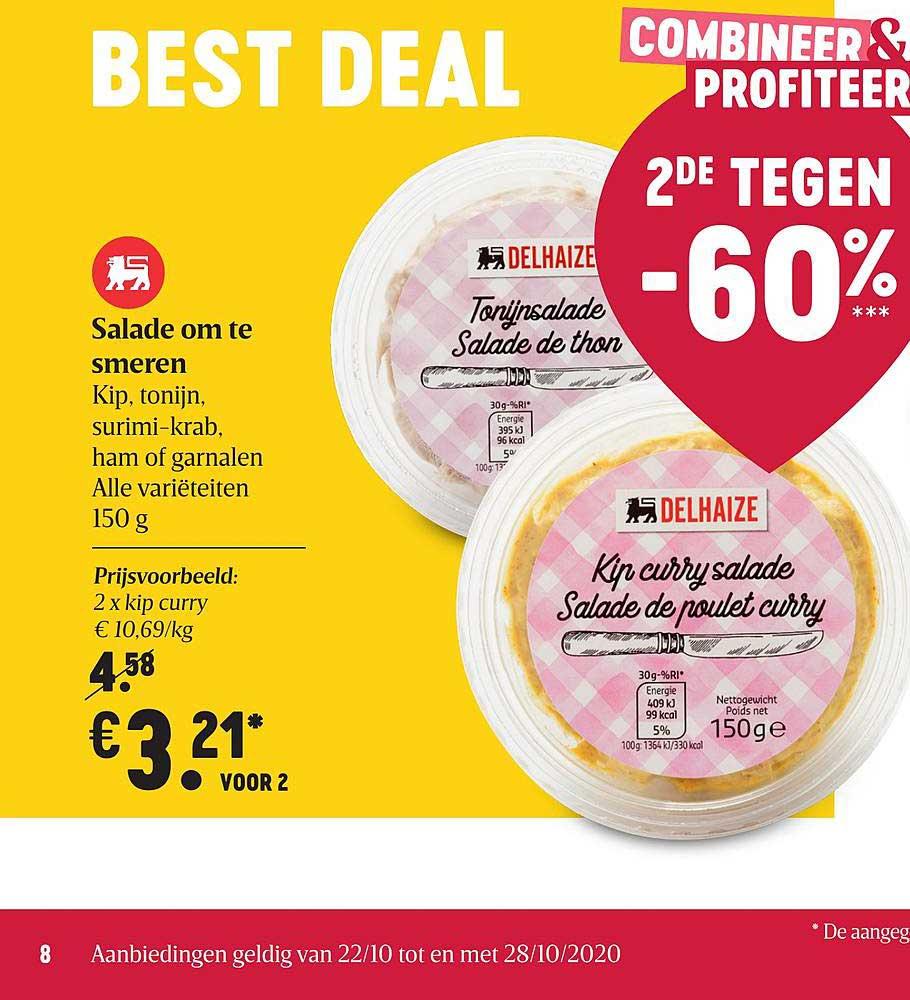 Proxy Delhaize Salade Om Te Smeren