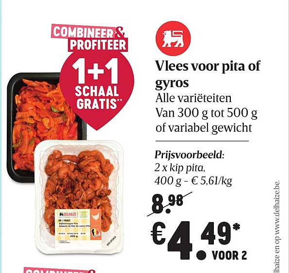 Proxy Delhaize Vlees Voor Pita Of Gyros