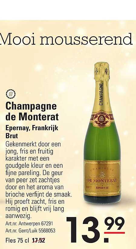 ISPC Champagne De Monterat Epernay, Frankrijk Brut