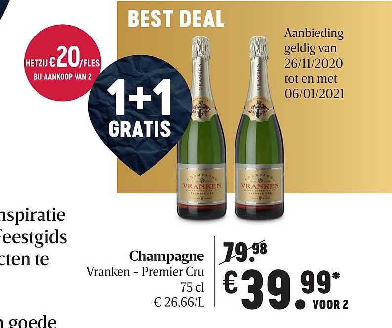 Delhaize Champagne Vranken Premier Cru