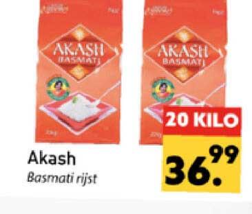 Tanger Markt Akash Basmati Rijst