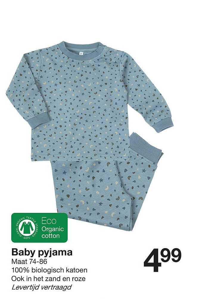 Zeeman Baby Pyjama