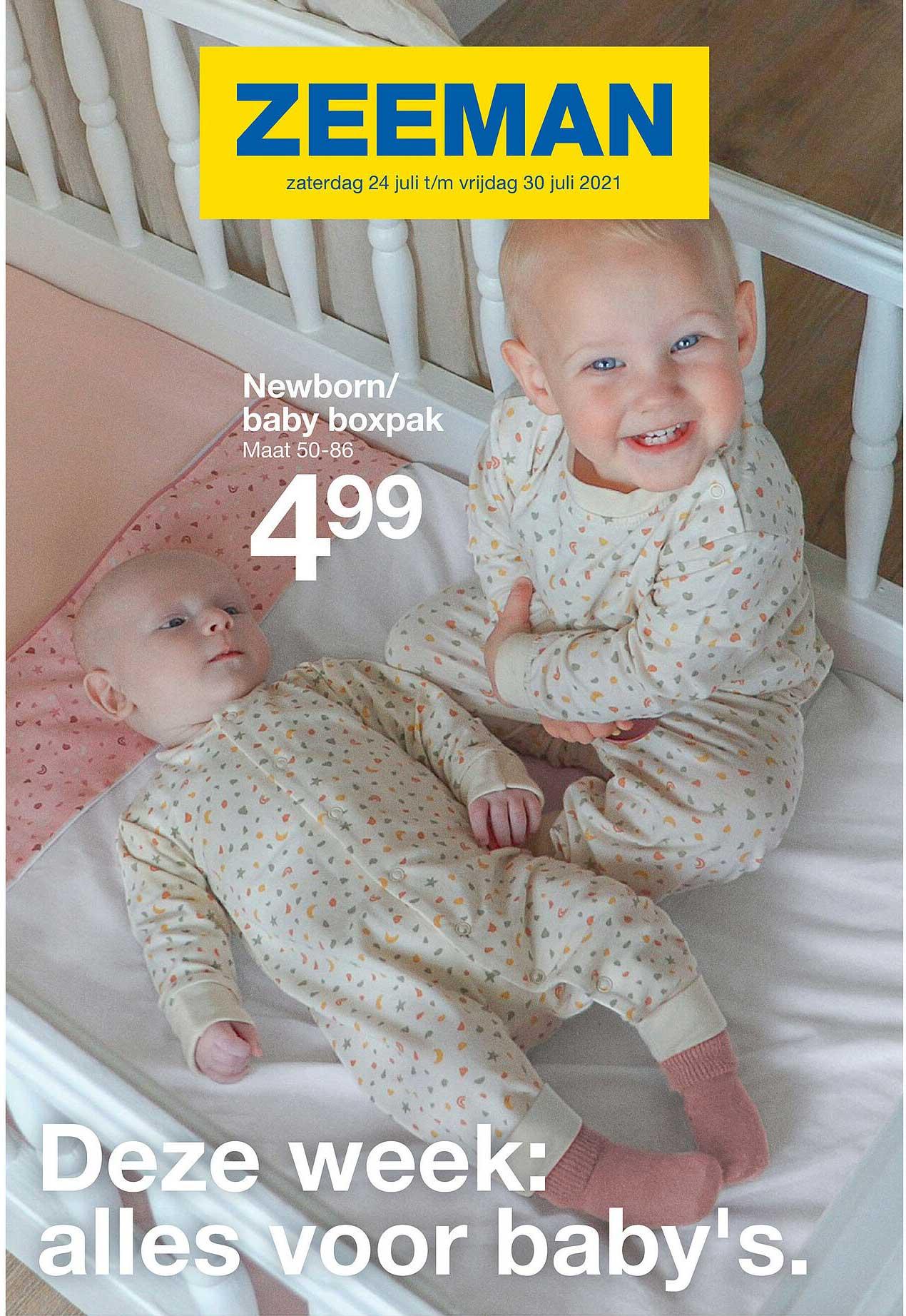 Zeeman Newborn - Baby Boxpak