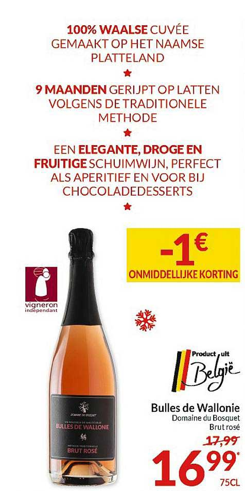 Intermarché Bulles De Wallonie Domaine Du Bosquet