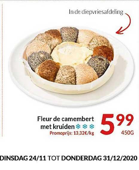 Intermarché Fleur De Camembert Met Kruiden