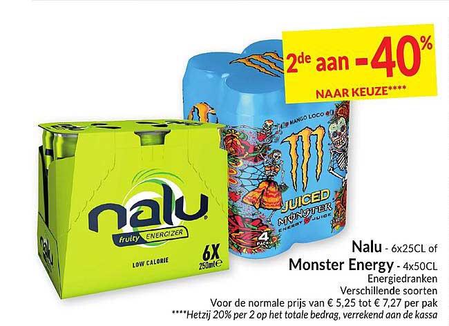 Intermarché Nalu Of Monster Energy Energiedranken