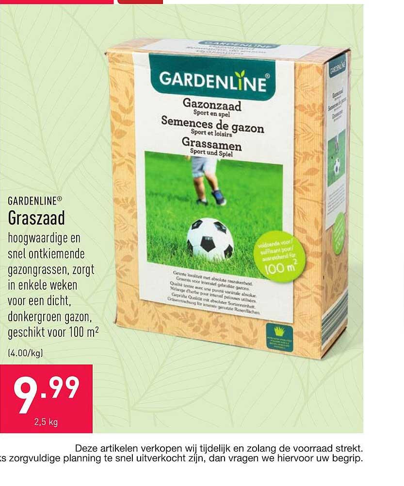 ALDI Gardenline Graszaad