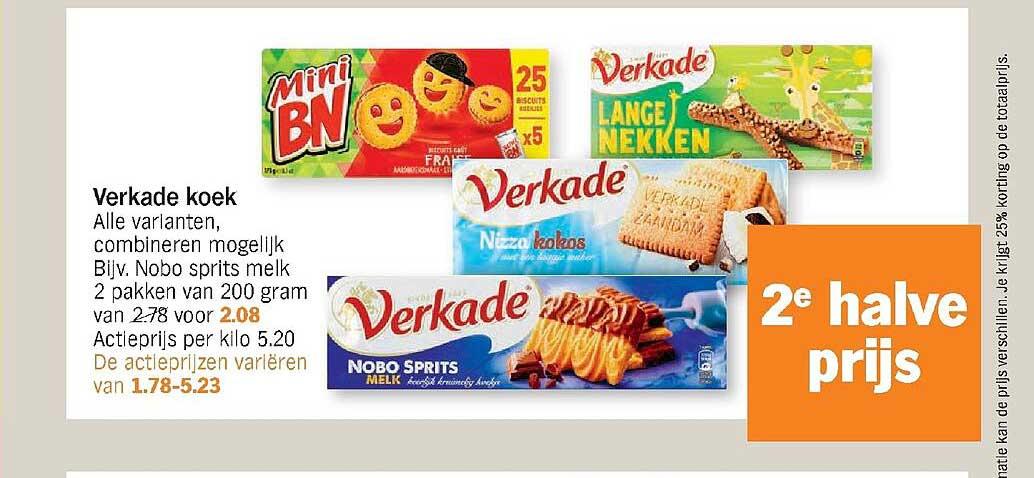 Albert Heijn Verkade Koek