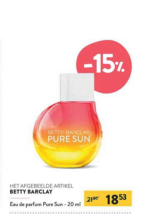 Di Betty Barclay Eau De Parfum Pure Sun