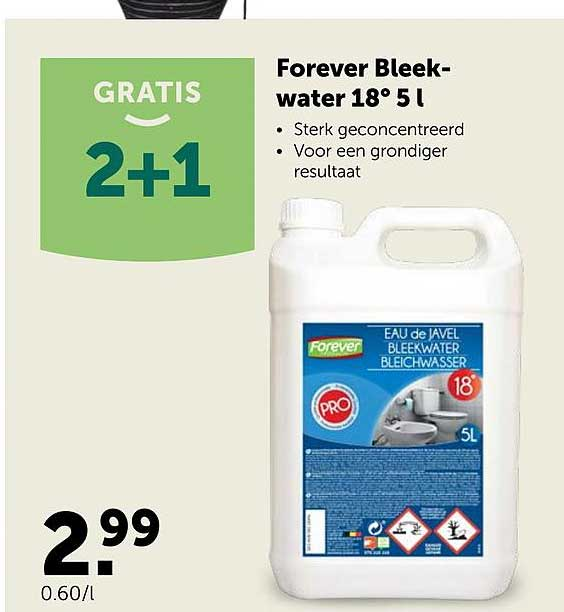 AVEVE Forever Bleekwater 18 5l