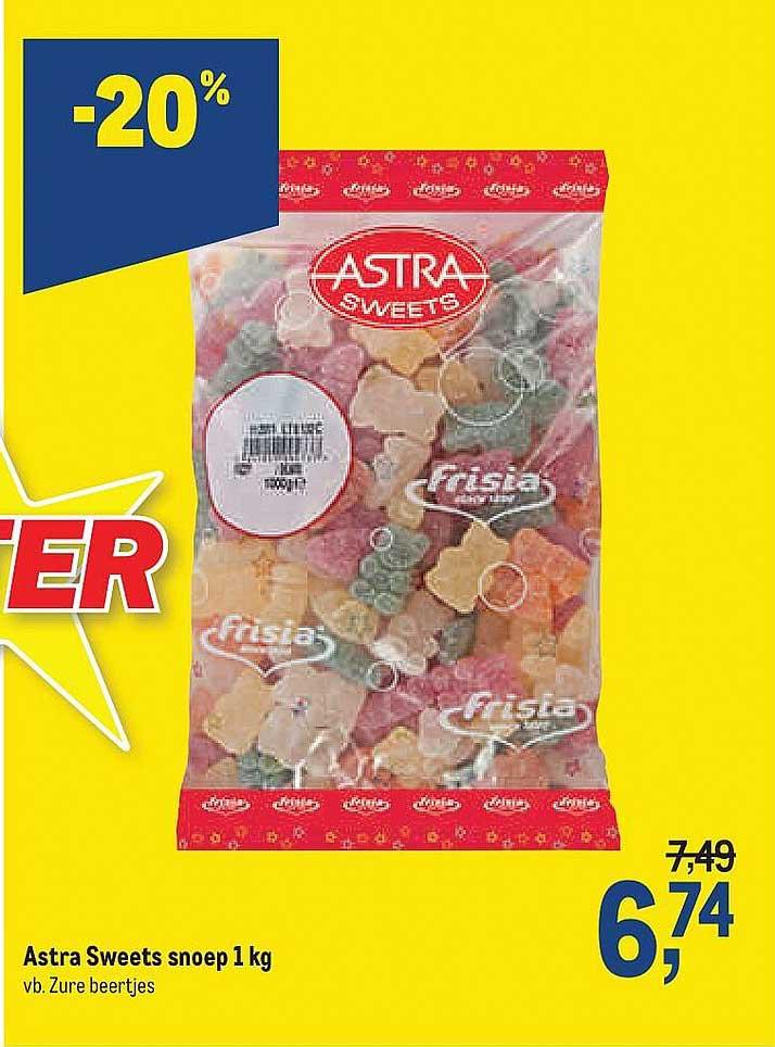 Makro Astra Sweets Snoep 1 Kg
