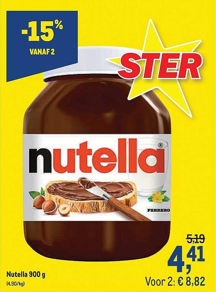 Makro Nutella 900 G