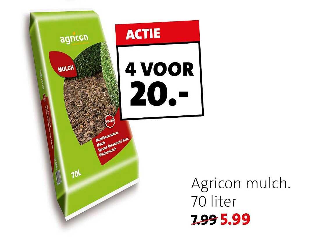 Intratuin Agricon Mulch 70 Liter