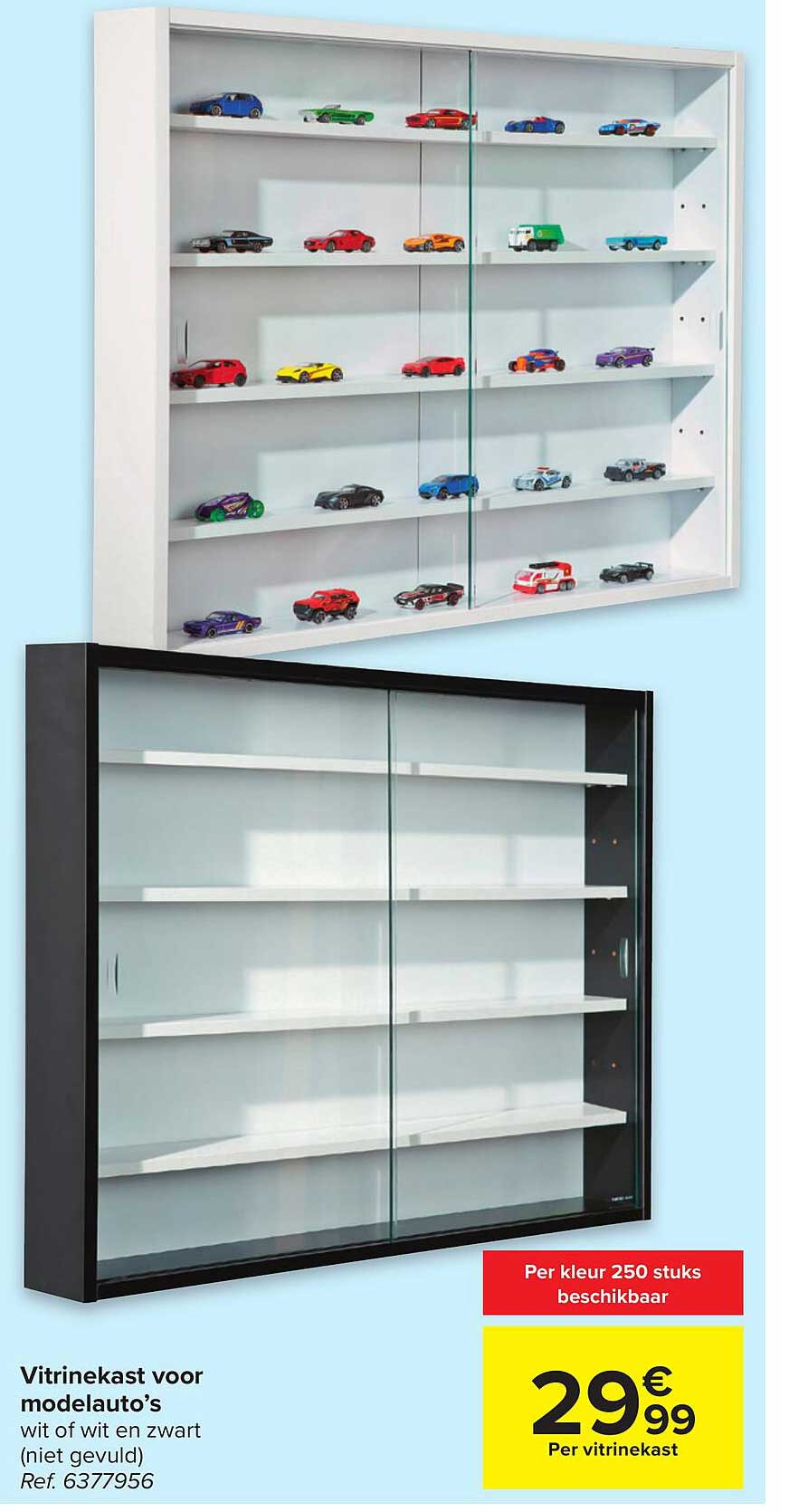 Hyper Carrefour Vitrinekast Voor Modelauto's