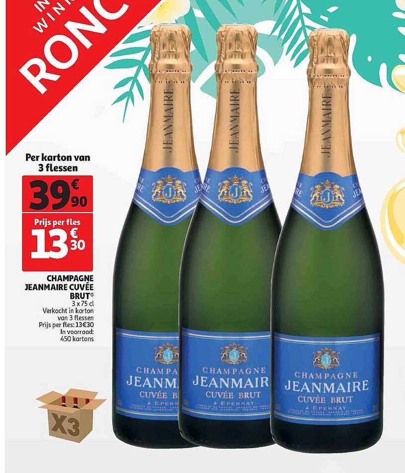 Auchan Champagne Jeanmaire Cuvée Brut