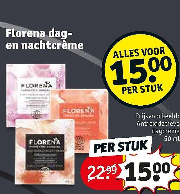 Kruidvat Florena Dag-en Nachtcreme