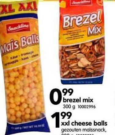 Yess Brezel Mix Of Xxl Cheese Balls