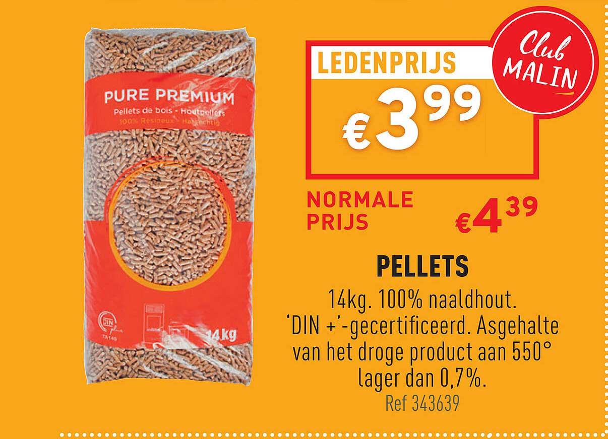 Trafic Pellets 14 Kg Naaldhout