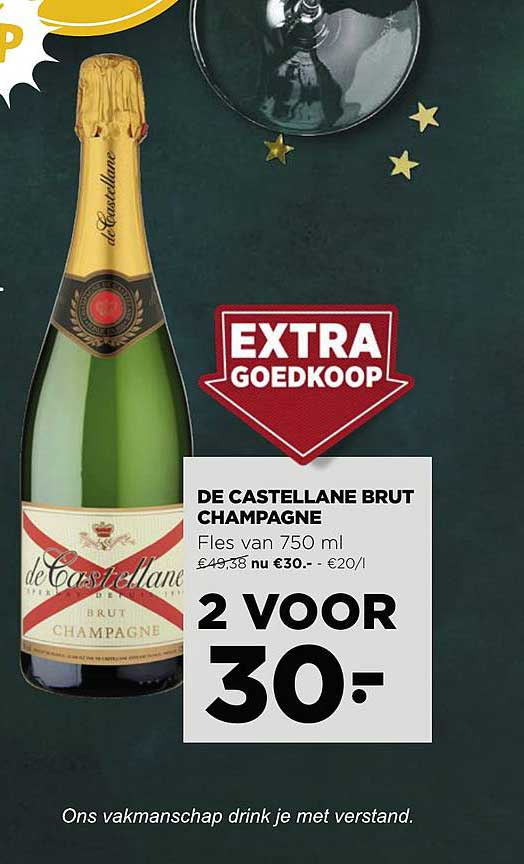 Jumbo De Castellane Brut Champagne