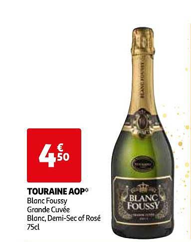 Auchan Touraine Aop Blanc Foussy