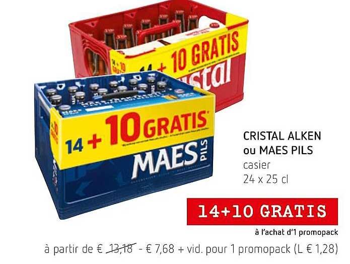Spar Colruyt Cristal Alken Ou Maes Pils