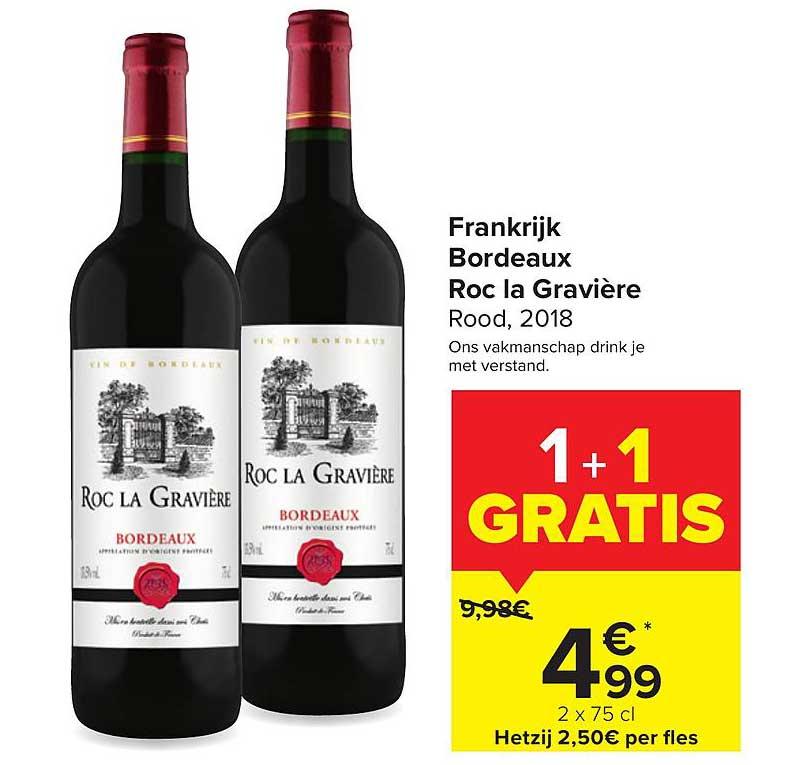 Carrefour Market Frankrijk Bordeaux Roc La Graviere