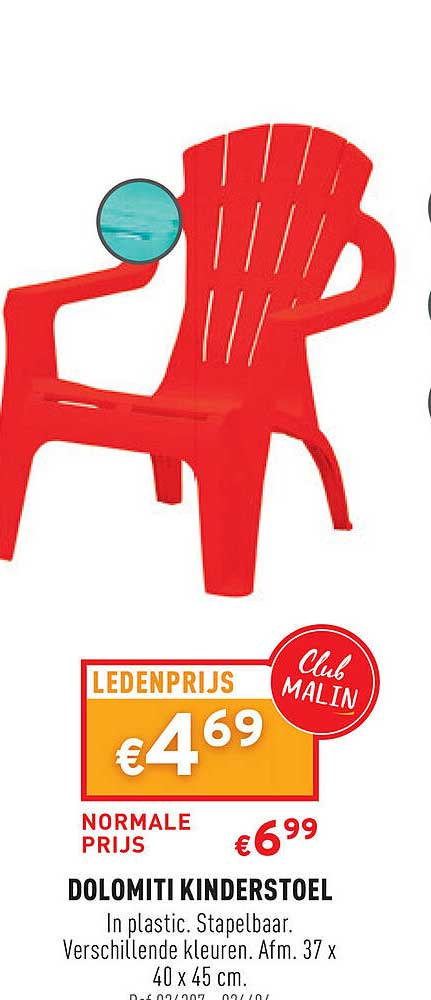 Trafic Dolomiti Kinderstoel