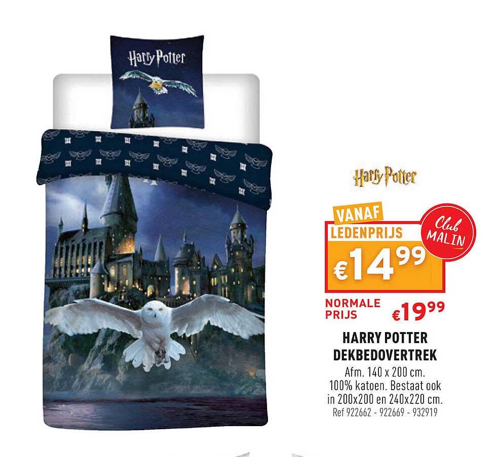 Trafic Harry Potter Dekbedovertrek 140x200 Cm