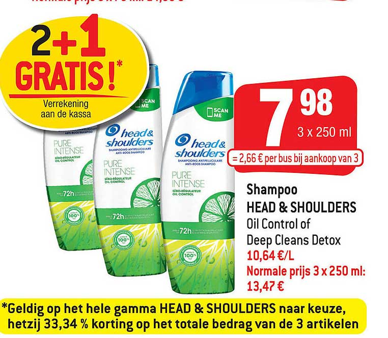 Smatch Shampoo Head & Shoulders