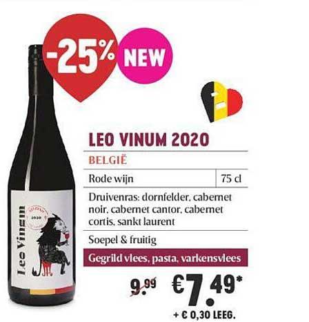 Delhaize Leo Vinum 2020