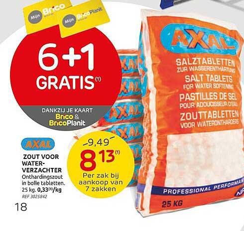 Brico Axal Zout Voor Waterverzachter