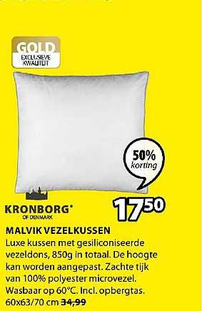Jysk Kronborg Malvik Vezelkussen