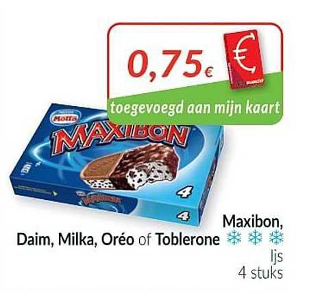 Intermarché Maxibon Ijs