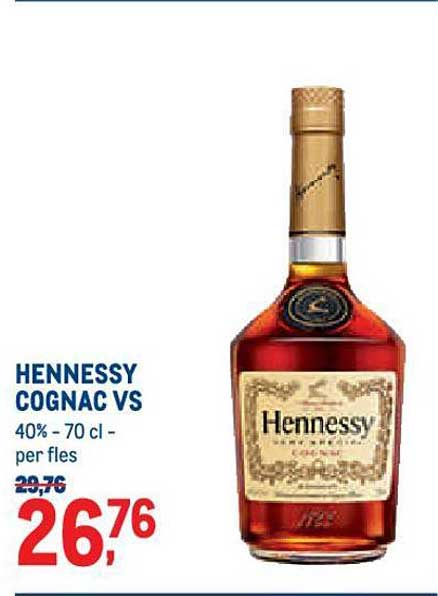 METRO Hennessy Cognac Vs