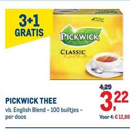 METRO Pickwick Thee