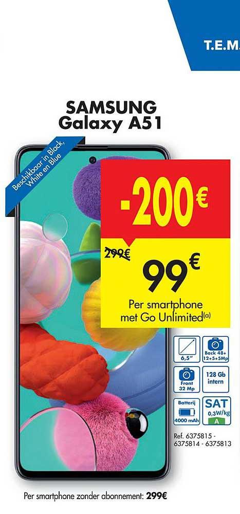 Carrefour Samsung Galaxy A51