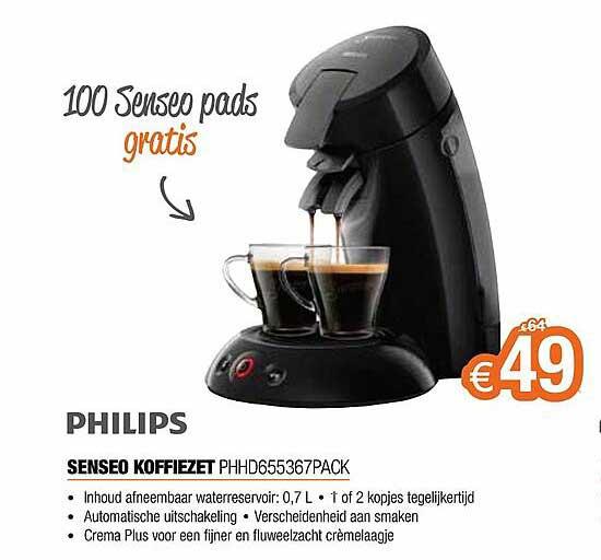 Expert Philips Senseo Koffiezet