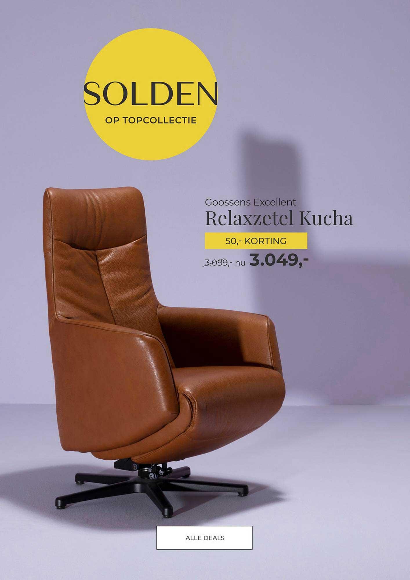 Goossens Goossens Excellent Relaxzetel Kucha