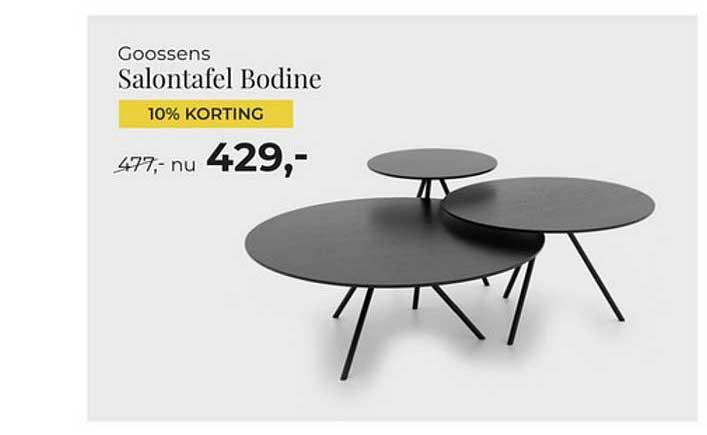 Goossens Goossens Salontafel Bodine