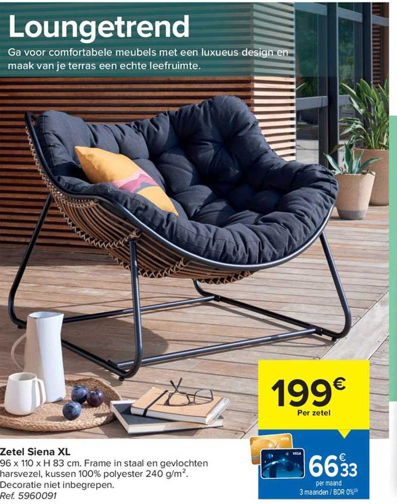 Carrefour Zetel Siena Xl