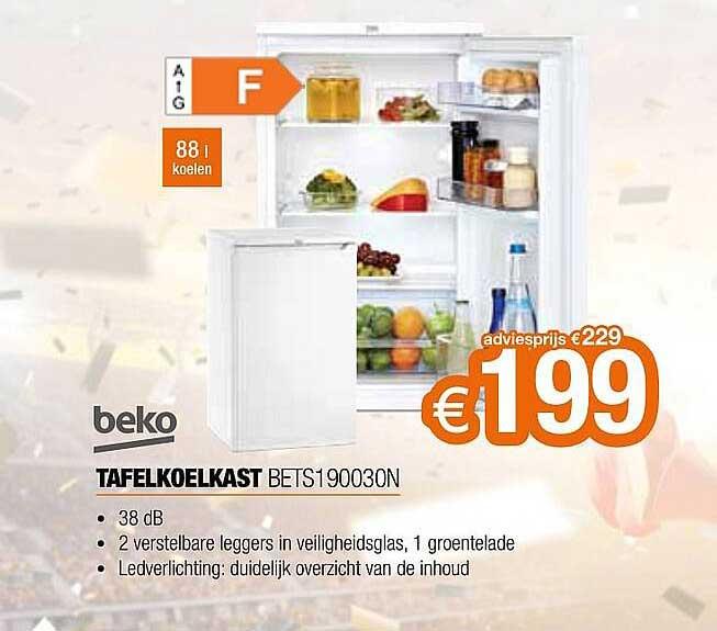 Expert Beko Tafelkoelkast Bets190030n