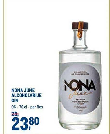 METRO Nona June Alcoholvrije Gin
