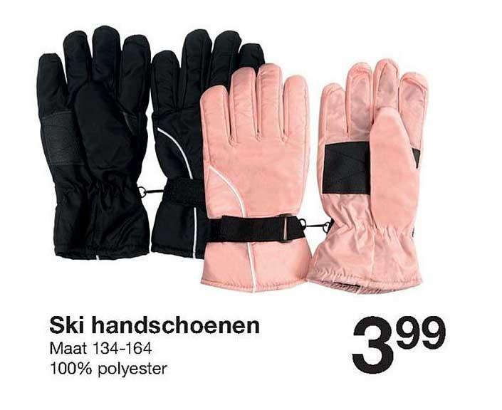 Zeeman Ski Handschoenen
