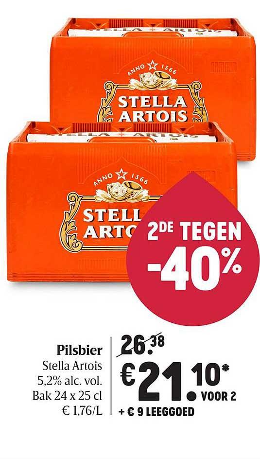 Delhaize Stella Artois Pilsbier