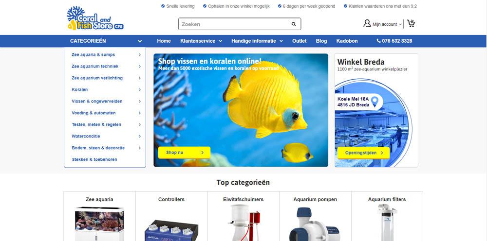 Grootste Aquariumwinkels van Nederland