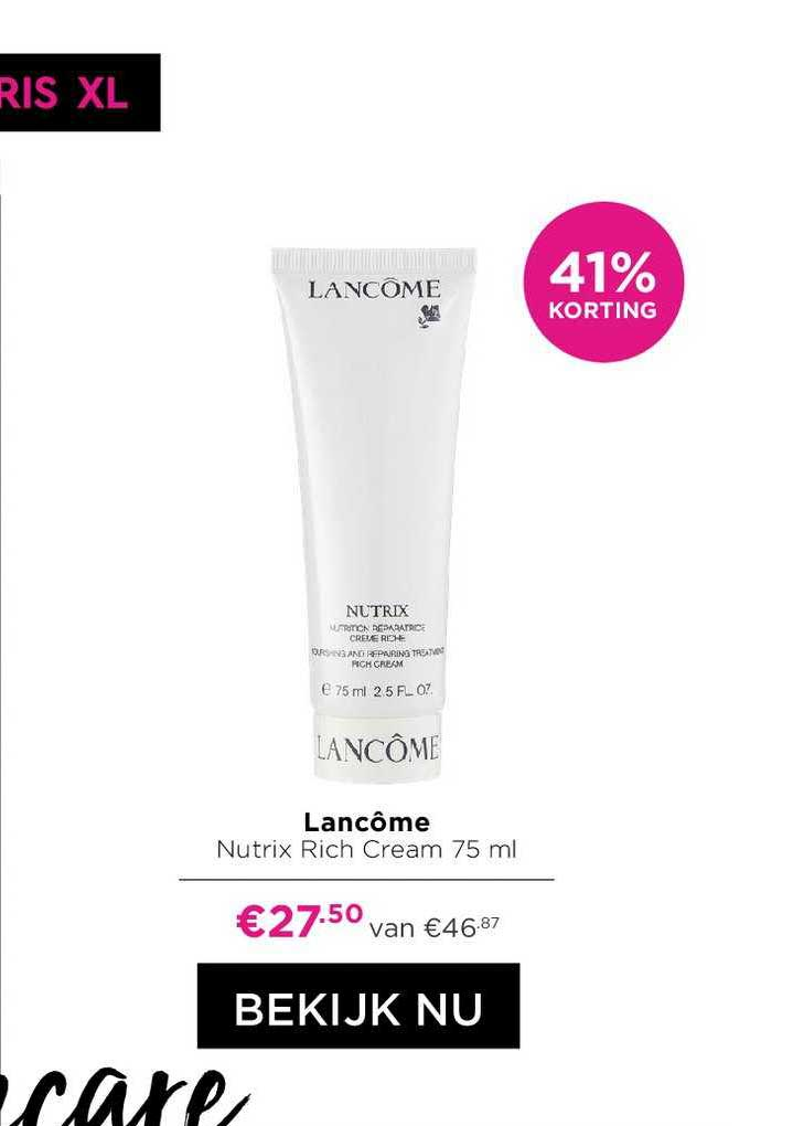ICI PARIS XL Lancome Nutrix Rich Cream 41% Korting